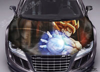 Anime Car Bonnet Wrap Decal Full Color Graphics Vinyl Sticker Fit Any Car #088