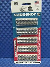 "TRUMARK SLINGSHOT STEEL HUNTING AND TARGET AMMO  3/8""  SA375C   MADE IN USA"