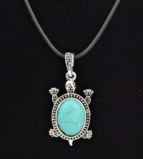 Fashion Turquoise Turtle Necklace Pendant XL343