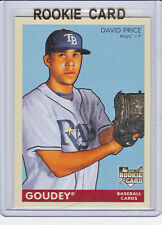 David PRICE ROOKIE Card GOUDEY RC Baseball TAMPA BAY RAYS Pitcher Boston Red Sox