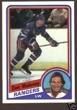 1984-85 Topps Hockey Don Maloney #109 NY Rangers NM/MT