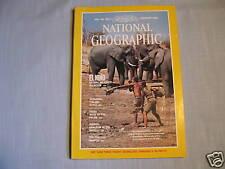 National Geographic February 1984 El Nino Wild Elephant Jordan Praying Mantis