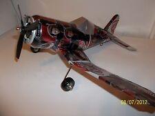 Aluminum soda can handcaft airplane/DIET DR.PEPPER AVENGERS (BLACK WIDOW)CORSAIR