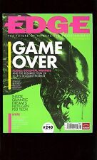 Edge gaming magazine Vol 240 May 2012 Aliens Colonial Marines / video game issue