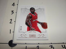Chris Paul 2012-13 NATIONAL TREASURES #43 Base SP #/99 LA Clippers - Wake Forest