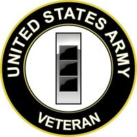 """Army W-3 Chief Warrant Officer 3 Veteran 5.5"""" Sticker 'Officially Licensed'"""