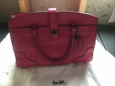 Coach $395 Pink Mercer Satchel 30 in Grain Leather,  AWESOME BAG!