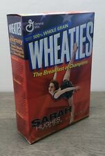 Vintage Wheaties Cereal w/ Sarah Hughes 18 oz Full Box Factory Sealed