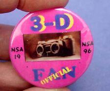 Kodak Stereo Camera Lenticular Pin - True 3-D image!