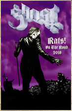 GHOST Rats! On The Road 2018 Ltd Ed RARE Tour Poster +FREE Metal Rock Poster!