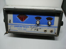 Yngwie Owned Vintage Peterson Strobe Tuner model 450 Vtg