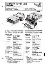 Service Manual-Anleitung für Blaupunkt Essen CR, 7 634 935