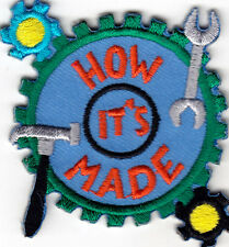 """""""HOW IT'S MADE"""" - Iron On Embroidered Patch Applique - Education - Experiment"""