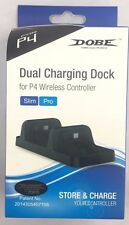 DUAL USB HUB DOCK Charging Stand Docking Station FOR PS4 Slim & Pro Controller