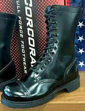 CORCORAN MEN SIZE 8 1/2 D LIGHTWEIGHT USA MADE SIDE ZIP JUMP LEATHER BOOT XC1585