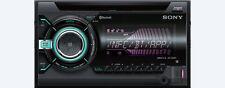 Sony 2 DIN CD Bluetooth NFC Radio Car Audio USB/SD Receiver WX-900BT - Open Box
