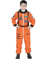 Morris Costumes Boys Astronaut Suit Orange 8 To 10. AR52MD