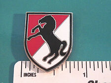 11th ACR Army Cavalry  - hat pin ,  lapel pin , tie tac , hatpin GIFT BOXED