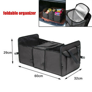 Foldable Car Trunk Cargo Storage Bag Organizer Multi-use Holder Box Universal