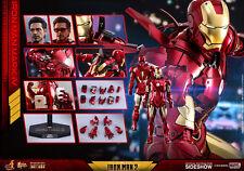 "Hot Toys Marvel Iron Man 2 Iron Man Mark IV Diecast 1/6 Scale 12"" Figure MISB"