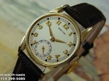 1946 Vintage HAMILTON ENDICOT, Stunning Silver Dial, Serviced With Warranty