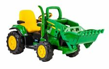 John Deere 12v Battery Powered Ride On Tractor With Front Loader Gift Christmas