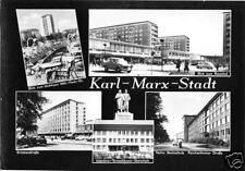AK, Karl-Marx-Stadt, fünf Abb., gestaltet, 1967