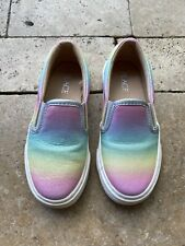 Girls The Children's Place Rainbow Slip On Shoes Sneakers