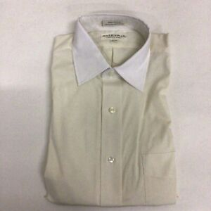 HATHAWAY MENS LONG SLEEVE BUTTON DOWN SIZE 15.5-34 V43