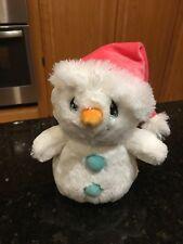 "Precious Moments ""You Melt My Heart"" Flurry Snowman plush Stuffed Animal 8.5"""