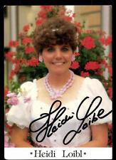 Heidi Loibl Autogrammkarte Original Signiert ## BC 48658