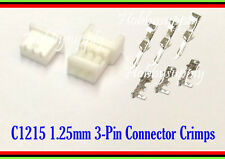 1.25mm 51021 51047 PicoBlade 3 WAY Male Female Connector Crimp Contact Pin 10SET