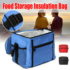 Insulated Lunch Box Soft Cooler Bag Waterproof Thermal Work School Picnic  C &