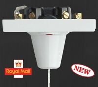45A Pull Cord Switch Bathroom Shower Light, Double Pole Switch Ceiling- NEON