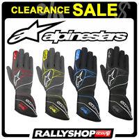 FIA GLOVES ALPINESTARS TECH 1-ZX RACE Rally Motorsport Guantes CLEARANCE SALE!