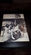 James Gang Bang! Rare Original Promo Poster Ad Framed!