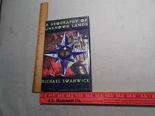 1997 Autograph Autographed Science Fiction   Michael Swanwick Unknown Lands
