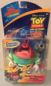Buzz Lightyear of Star Command BOOSTER Rockin Rockets Action Figure Xr Toy Story
