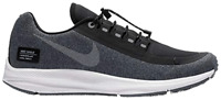 NIKE Zoom Winflo 5 Run Shield WOMENS Black Metallic Silver AO1573 001 RUNNING