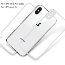 Full Body Front + Back Gorilla Glass Protection For Silver Apple iPhone X XS