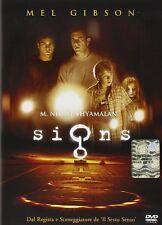 Dvd SIGNS - (2002) Mel Gibson ** Contenuti Speciali ** ......NUOVO