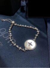 Authentic Apm Monaco  ETERNELLE Star Adjustable Bracelet - Silver