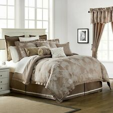 Waterford Trousseau 4P King comforter set Mocha