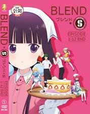 DVD ANIME BLEND-S Vol.1-12 End English Subs Region All + FREE DVD