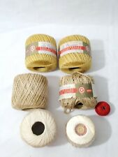 Unused Vintage 1960/'s Lily Daisy Crochet Thread and JP Coats Knit Cro-Sheen New