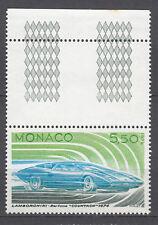 TIMBRE  MONACO NEUF  N° 1028 **  VOITURE  LAMBORGHINI 1974