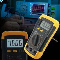 LCD Auto Range A/DC Digital Voltmeter Ammeter Ohmmeter Multimeter Volt Tester UP