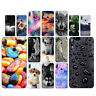Clear Case For ASUS Zenfone Max Pro (M2) ZB631KL Soft TPU Back Cover Stone Skins