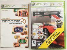 Project gotham racing 3 (pgr 3) inc arcade unplugged pour Xbox 360 (new & bundle)