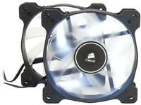 Corsair Air Series AF120 LED 120mm Quiet Edition High Airflow Fan Twin Pack - Wh